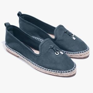 Loro Piana My Charms Suede Espadrilles 36